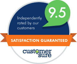 We use our own software to check that our customers are happy