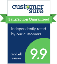 We use CustomerSure to check that our alloy wheel repair Newcastle customers are happy - every time.